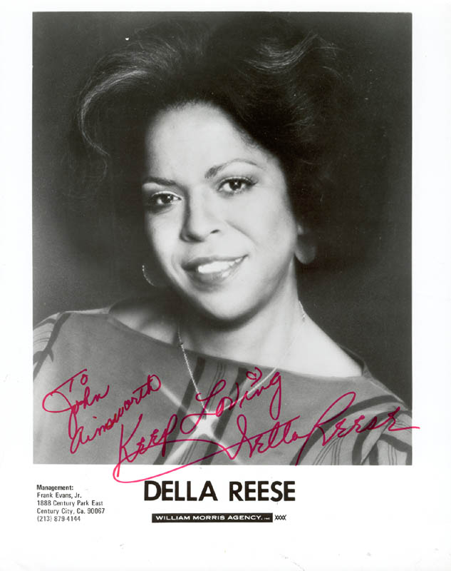 Image 1 for Della Reese - Autographed Inscribed Photograph - HFSID 37425