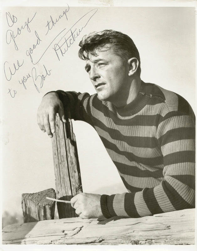 Image 1 for Robert Mitchum - Autographed Inscribed Photograph - HFSID 37469