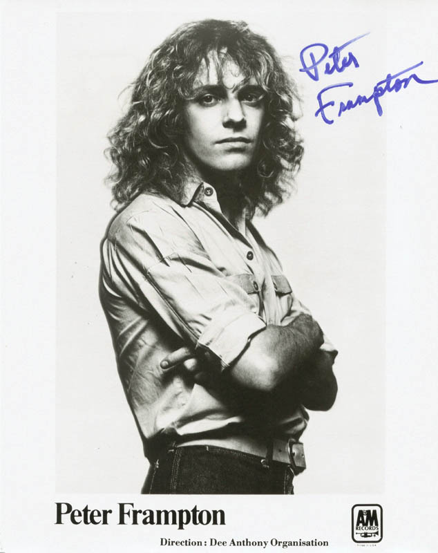 Image 1 for Peter Frampton - Autographed Signed Photograph - HFSID 37492