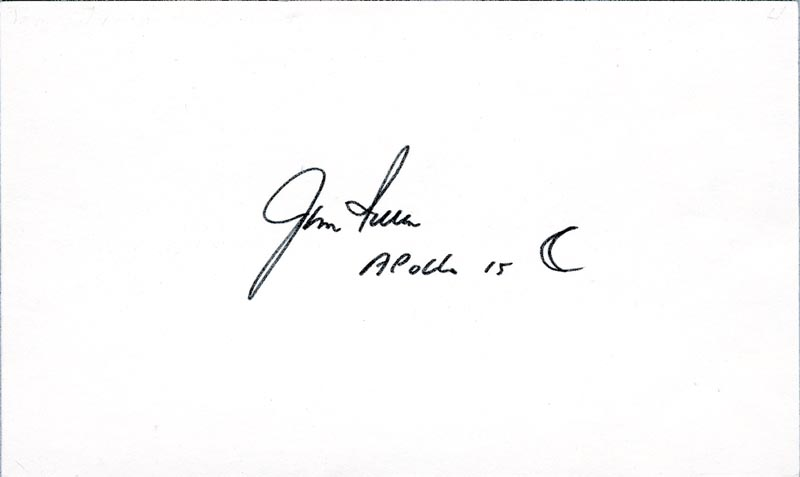Image 1 for Colonel James B. 'Jim' Irwin - Original Art Signed - HFSID 37570