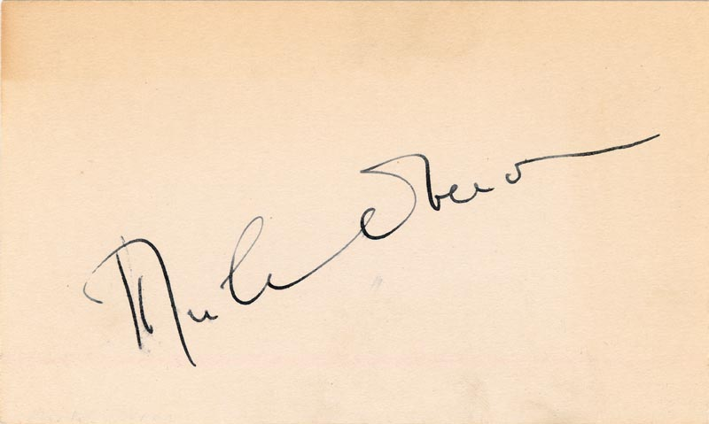 Image 1 for Merle Oberon - Autograph - HFSID 37683