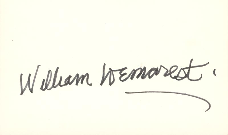 Image 1 for William Demarest - Autograph - HFSID 37716