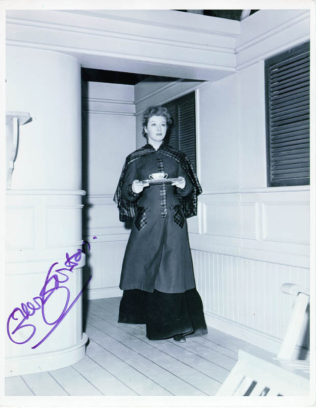 Image 1 for Greer Garson - Autographed Signed Photograph - HFSID 37839