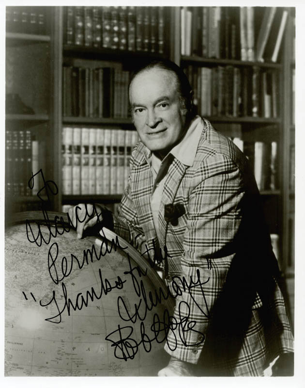 Image 1 for Bob Hope - Autographed Inscribed Photograph - HFSID 37928