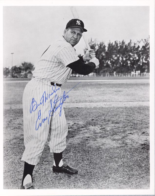Image 1 for Enos Slaughter - Autographed Signed Photograph - HFSID 37996