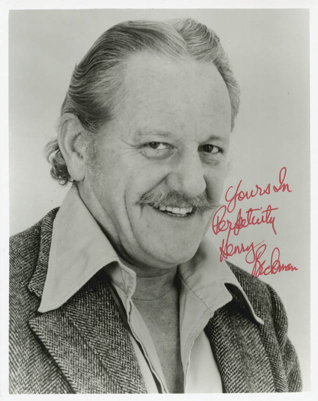 Image 1 for Henry Beckman - Autographed Signed Photograph - HFSID 38056