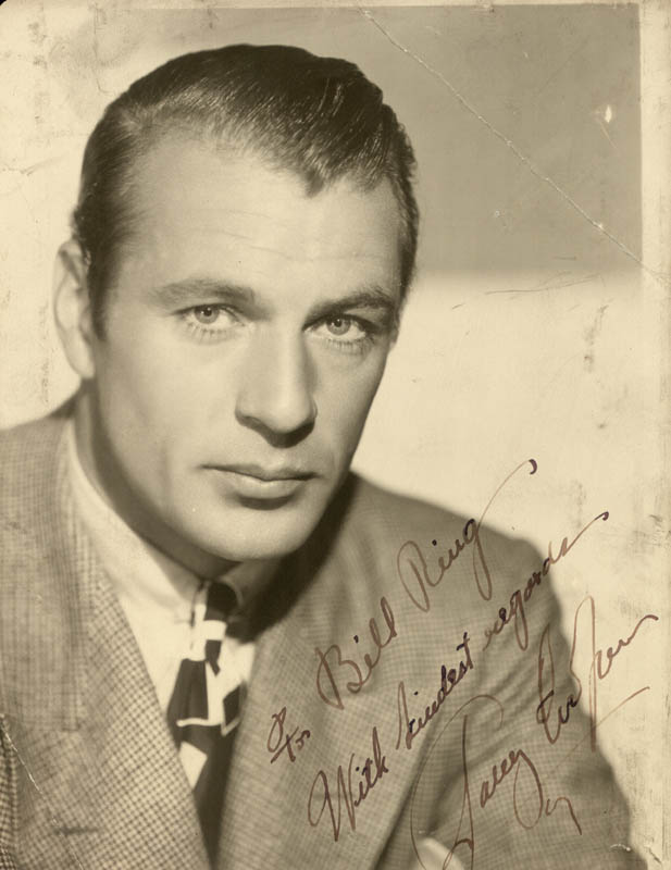 Image 1 for Gary Cooper - Autographed Inscribed Photograph - HFSID 38265