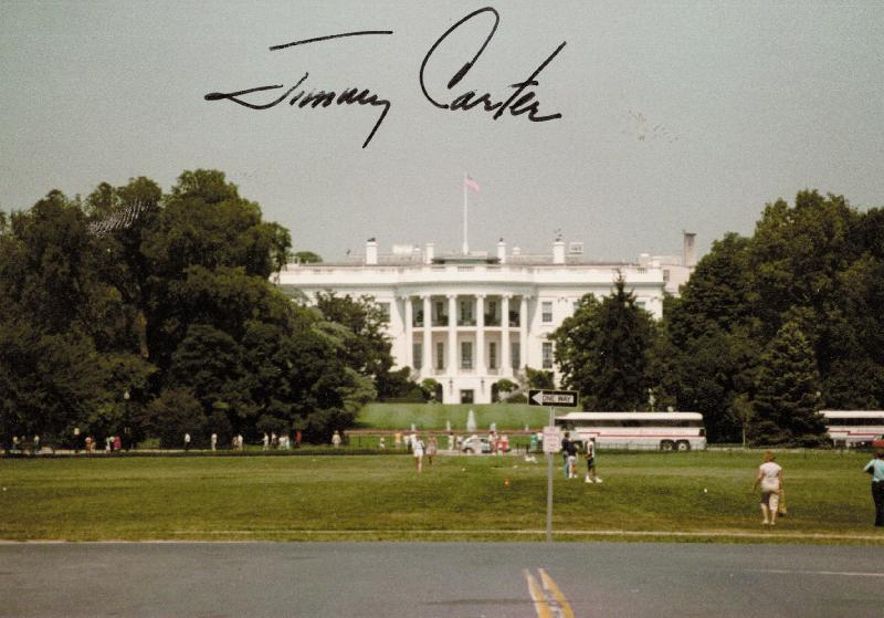 Image 1 for President James E. 'Jimmy' Carter - Autographed Signed Photograph - HFSID 38784