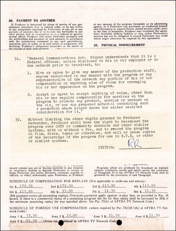 Image 3 for President Ronald Reagan - Document Signed 01/02/1973 - HFSID 3902