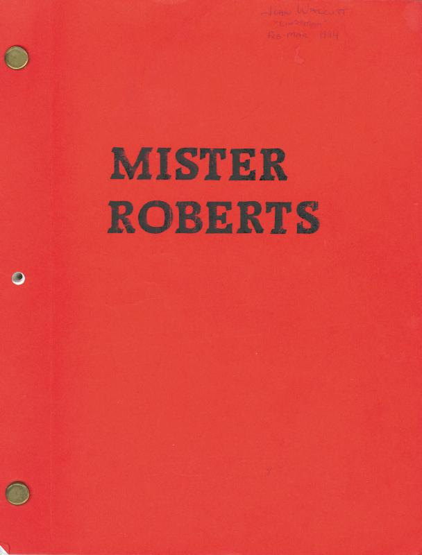 Image 3 for Mister Roberts TV Cast - Script Signed Circa 1984 with co-signers - HFSID 39876