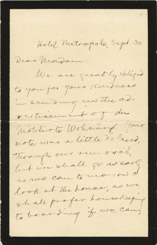 Image 3 for Samuel L. 'Mark Twain' Clemens - Autograph Letter Signed 9/30 - HFSID 39983