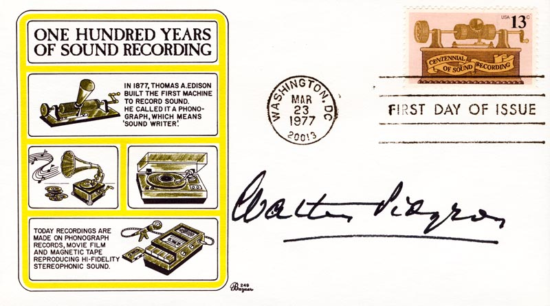 Image 1 for Walter Pidgeon - First Day Cover Signed - HFSID 40581