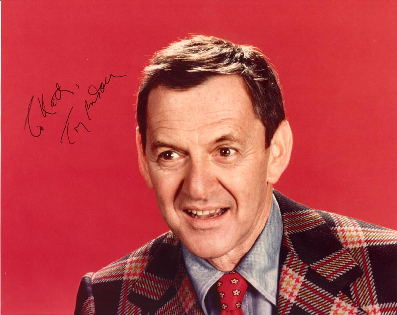 Image 1 for Tony Randall - Autographed Inscribed Photograph - HFSID 40940