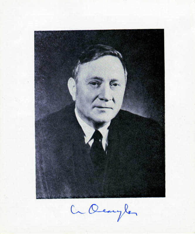 Image 1 for Associate Justice William O. Douglas - Autographed Signed Photograph - HFSID 40960