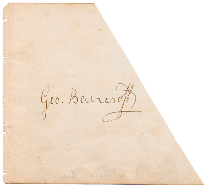 Image 1 for George Bancroft - Autograph - HFSID 41549