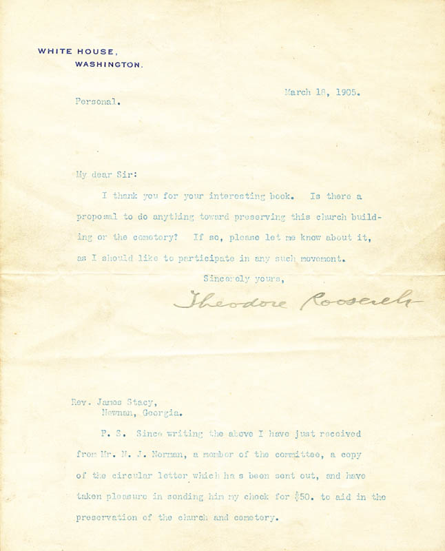 Image 1 for President Theodore Roosevelt - Typed Letter Signed 03/18/1905 - HFSID 41736