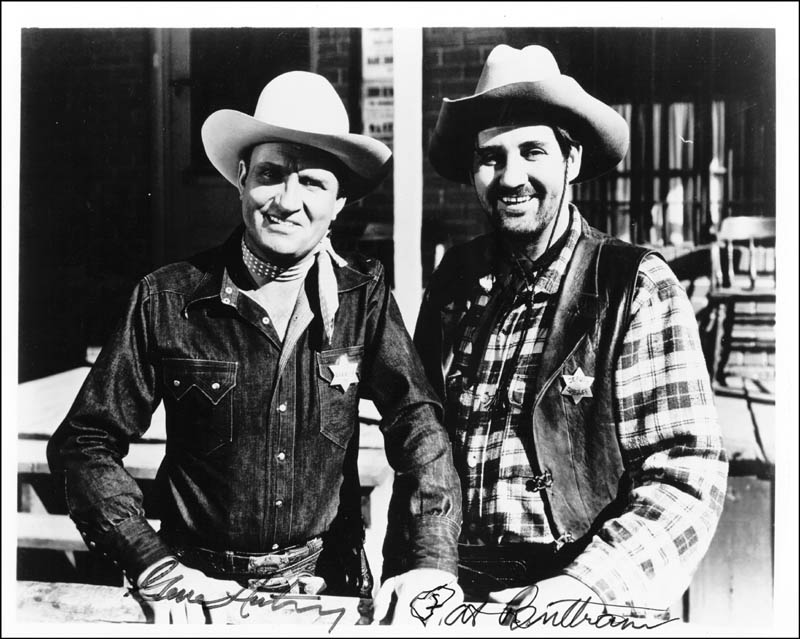 Image 1 for Gene Autry - Autographed Signed Photograph co-signed by: Pat Buttram - HFSID 41874
