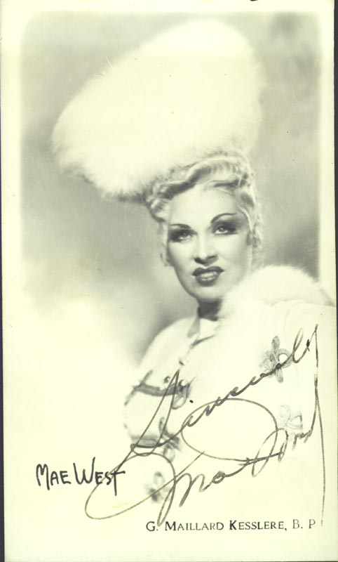 Image 1 for Mae West - Autographed Signed Photograph - HFSID 41964