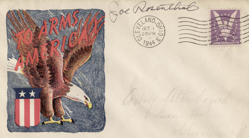 Image 1 for Joe Rosenthal - Commemorative Envelope Signed - HFSID 42087