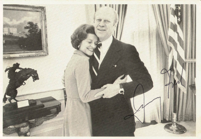 Image 1 for President Gerald R. Ford - Autographed Signed Photograph - HFSID 42139