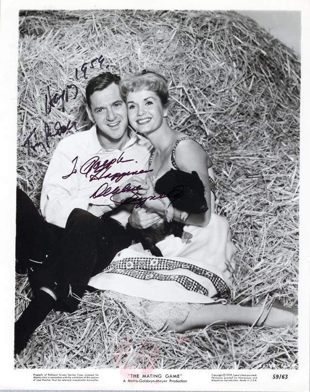 The Mating Game Movie Cast - Inscribed Printed Photograph