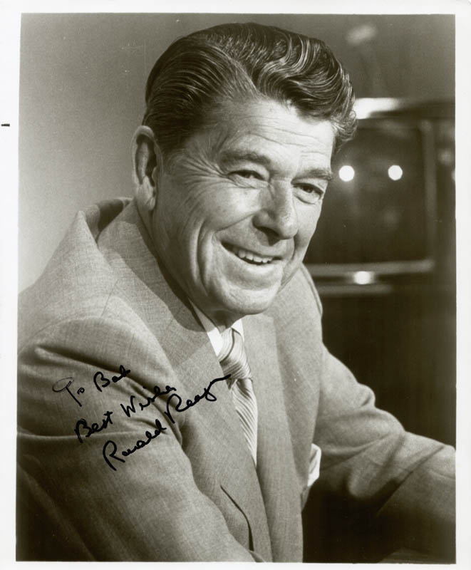 Image 1 for President Ronald Reagan - Autographed Inscribed Photograph - HFSID 42367