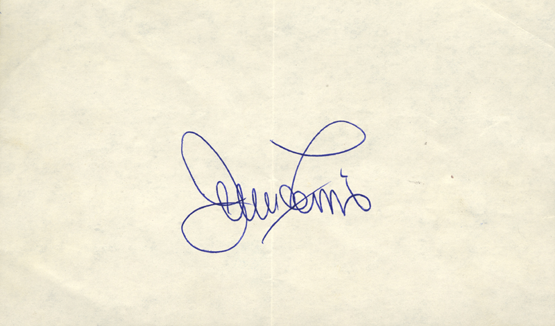 Image 1 for Jerry Lewis - Autograph - HFSID 42646