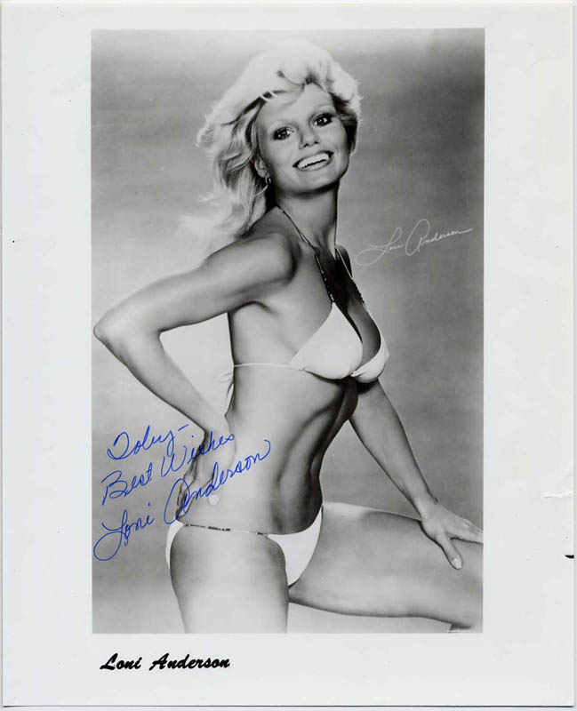 Image 1 for Loni Anderson - Autographed Inscribed Photograph - HFSID 42656