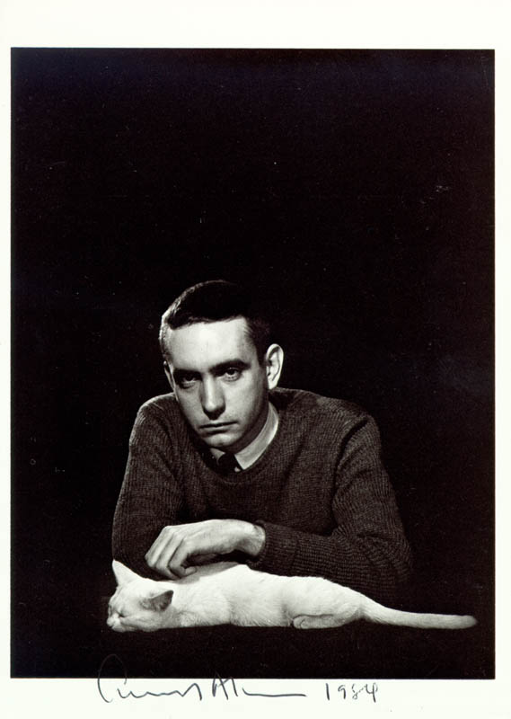Image 1 for Edward Albee - Autographed Signed Photograph 1984 - HFSID 42741