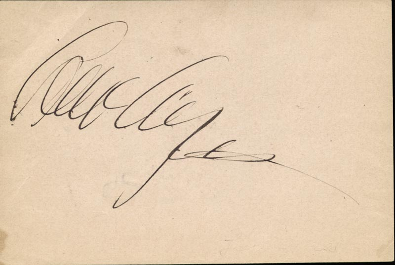 Image 1 for Lew Ayres - Autograph co-signed by: Alice White - HFSID 42776
