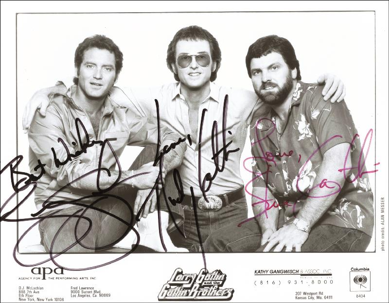 Image 1 for The Gatlin Brothers - Autographed Signed Photograph with co-signers - HFSID 42844