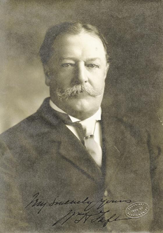 Image 1 for President William H. Taft - Autographed Signed Photograph Circa 1908 - HFSID 4286