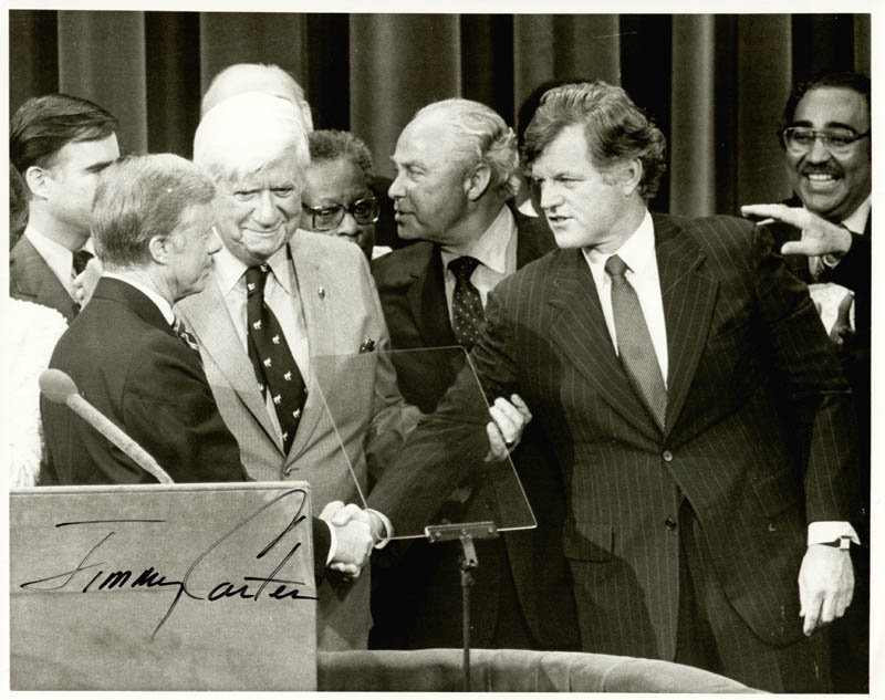 Image 1 for President James E. 'Jimmy' Carter - Autographed Signed Photograph - HFSID 43123