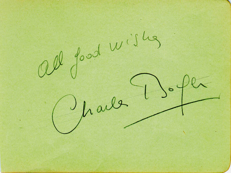Image 1 for Charles Boyer - Autograph Sentiment Signed - HFSID 43224