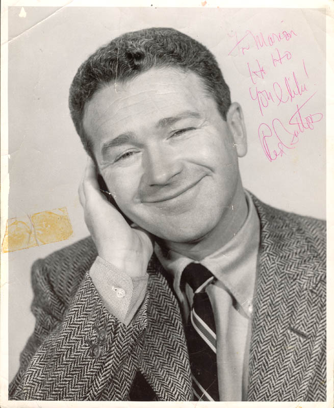 Image 1 for Red Buttons - Autographed Inscribed Photograph - HFSID 43299