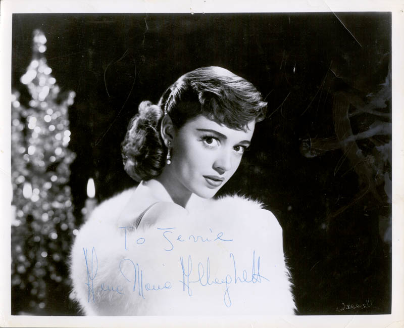 Image 1 for Anna Maria Alberghetti - Autographed Inscribed Photograph - HFSID 43314