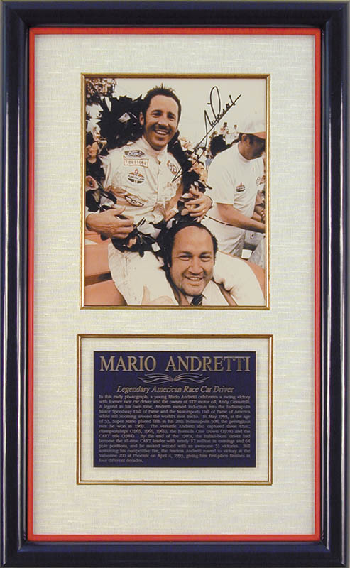 Image 1 for Mario Andretti - Autographed Signed Photograph - HFSID 43517