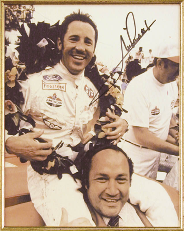 Image 3 for Mario Andretti - Autographed Signed Photograph - HFSID 43517