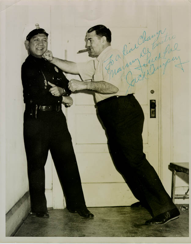 Image 1 for Jack Dempsey - Autographed Inscribed Photograph - HFSID 43562