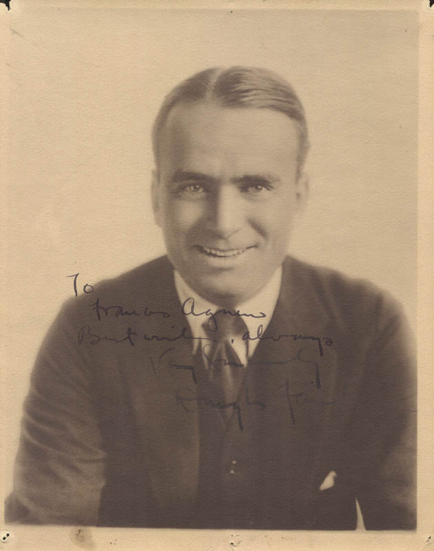 Image 1 for Douglas Fairbanks Sr. - Autographed Inscribed Photograph - HFSID 43957