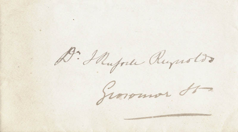 Image 3 for William '1st Baronet' Jenner - Autograph Letter Signed - HFSID 43972