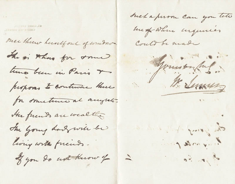 Image 1 for William '1st Baronet' Jenner - Autograph Letter Signed 07/12/1872 - HFSID 43975