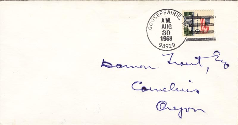 Image 3 for Associate Justice William O. Douglas - Autograph Letter Signed 08/30/1968 - HFSID 44080