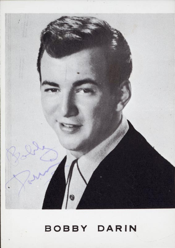 Image 1 for Bobby Darin - Autographed Signed Photograph - HFSID 44144