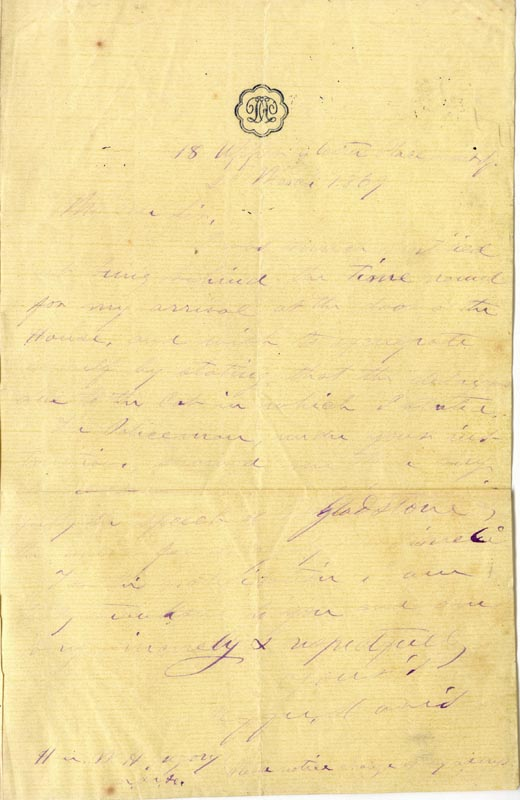 Image 1 for President Jefferson Davis (Confederate States Of America) - Autograph Letter Signed 03/02/1869 - HFSID 44185
