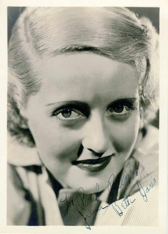 Image 1 for Bette Davis - Autographed Inscribed Photograph - HFSID 44198