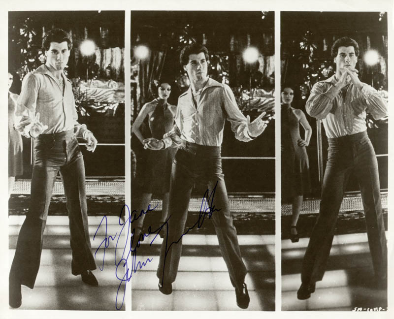 Image 1 for John Travolta - Autographed Inscribed Photograph - HFSID 44204