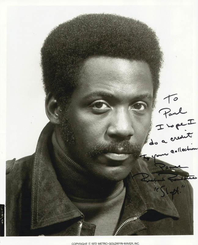 Image 1 for Richard Roundtree - Autographed Inscribed Photograph 1972 - HFSID 44210