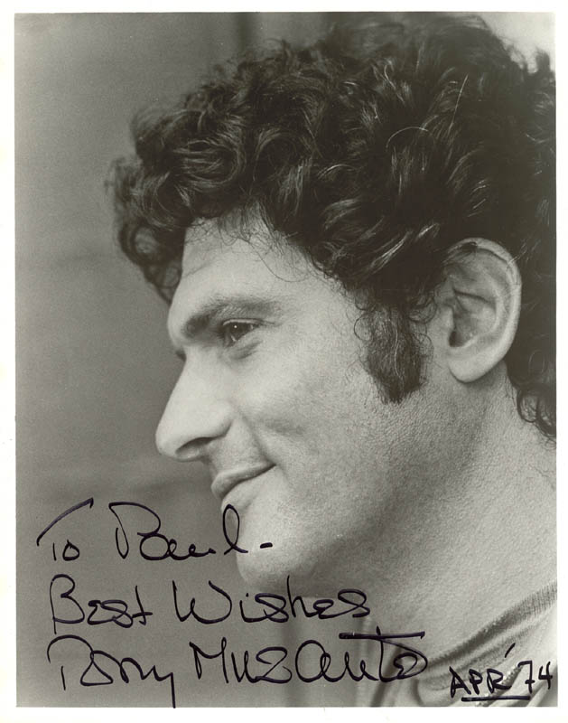 Image 1 for Tony Musante - Autographed Inscribed Photograph 4/1974 - HFSID 44250