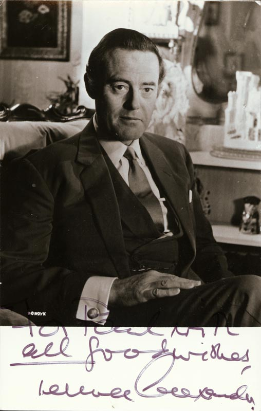 Image 1 for Terence Alexander - Autographed Inscribed Photograph - HFSID 44338